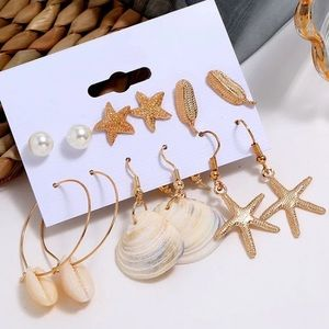 Set of Shell Earrings